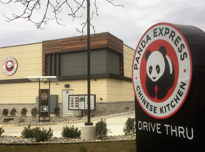 Panda Express has opened its first South Jersey restaurant at the Walmart shopping center on Route 38 in Cherry Hill.