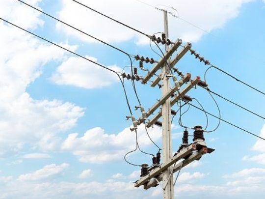 Officials say power will be fully restored this afternoon.