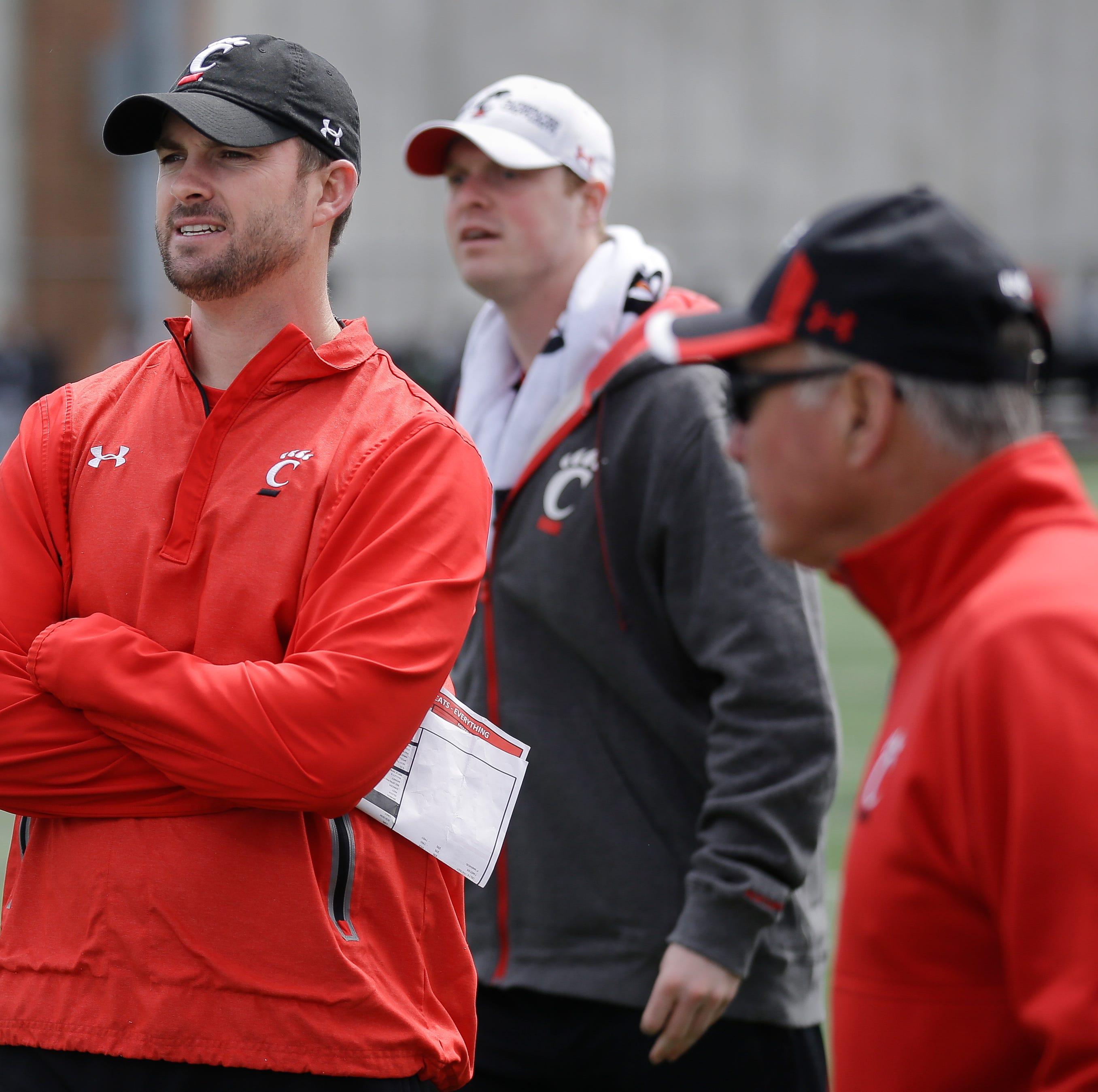 Cincinnati's offensive coordinator and...