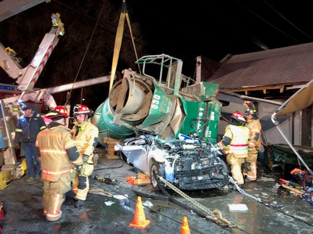 A serious crash involving a cement truck and multiple motorcycles has injured several people in Milford, Ohio.