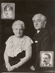 Adolph S. Ochs, publisher of The New York Times, and his wife, Effie, celebrated their their 50th anniversary in 1933 along with photos from their 1883 wedding. The Ochs lead the celebrated family that has run the New York Times since 1896.
