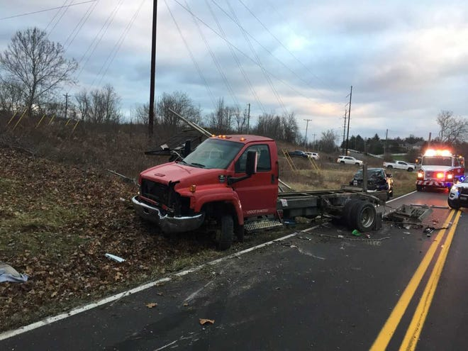 A three vehicle collision occurred around 7:20 a.m. on Jan. 9 on Richwood Road in Walton
