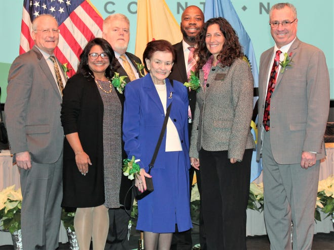 More than 500 attendees came out to hear the Middlesex County Board of Chosen Freeholder's vision for the coming year at the board's 2019 Reorganization.