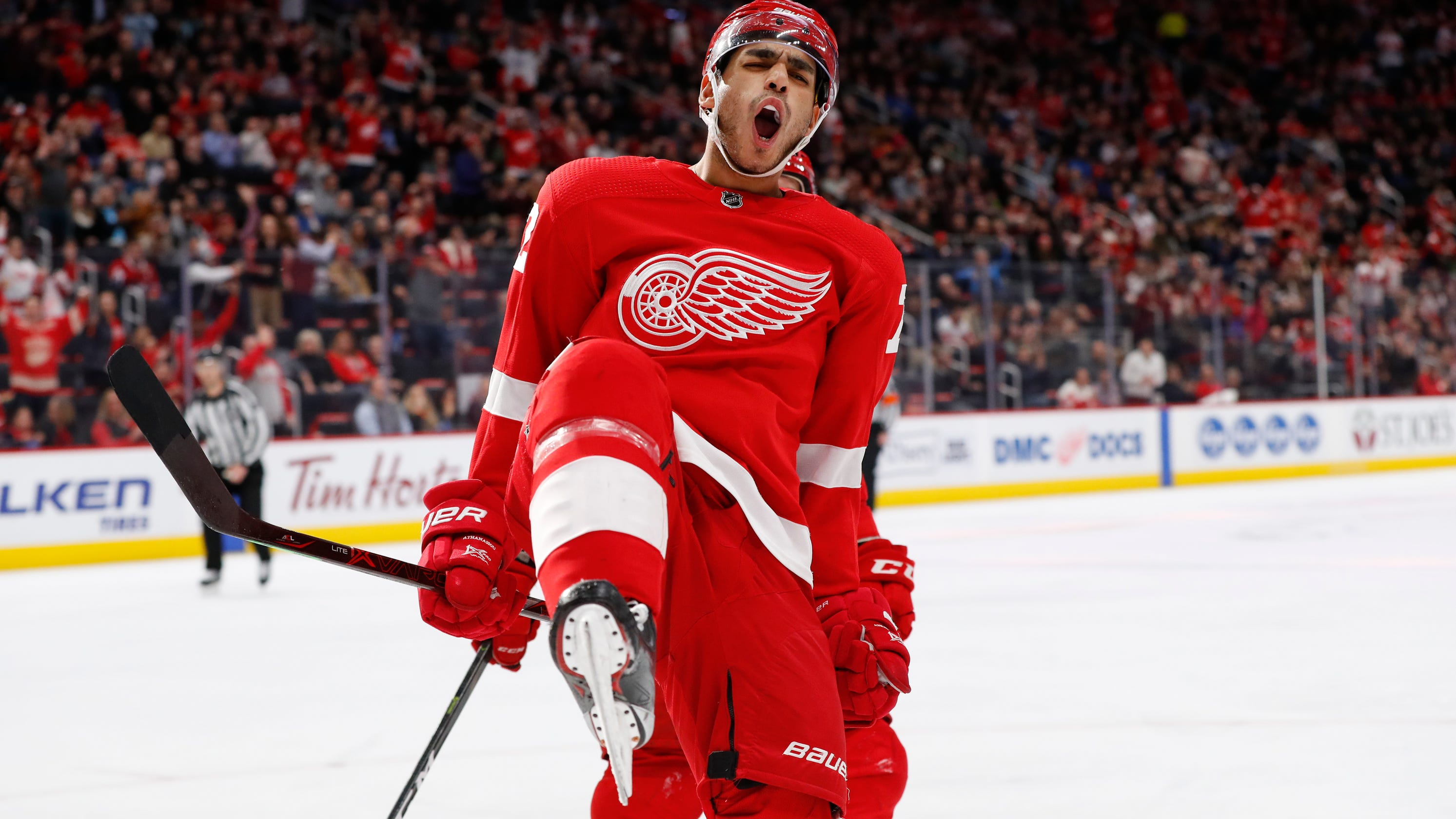 Why Andreas Athanasiou is Detroit Red Wings' 'X-factor'