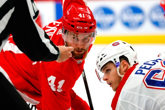 Nhl Montreal Canadiens At Detroit Red Wings