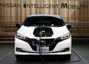 The president's proposed budget would eliminate the $7,500 federal tax credit for electric cars like the Nissan Leaf.