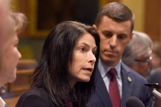 Michigan Attorney General Dana Nessel, and House Speaker Lee Chatfield.