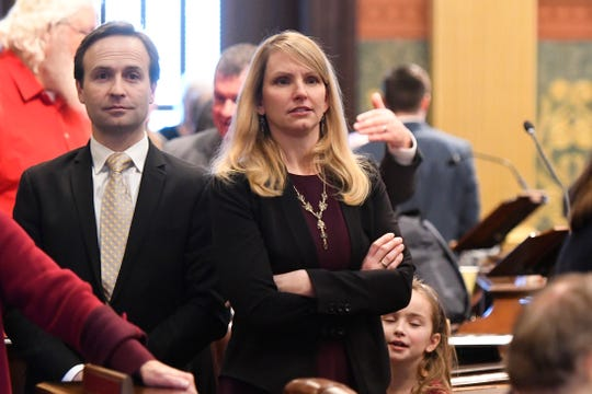 Former Lt. Gov. Brian Calley, whose wife is state Rep. Julie Calley, R-District 87, said 100 to 150 people or organizations contacted him about potential jobs between August and January.