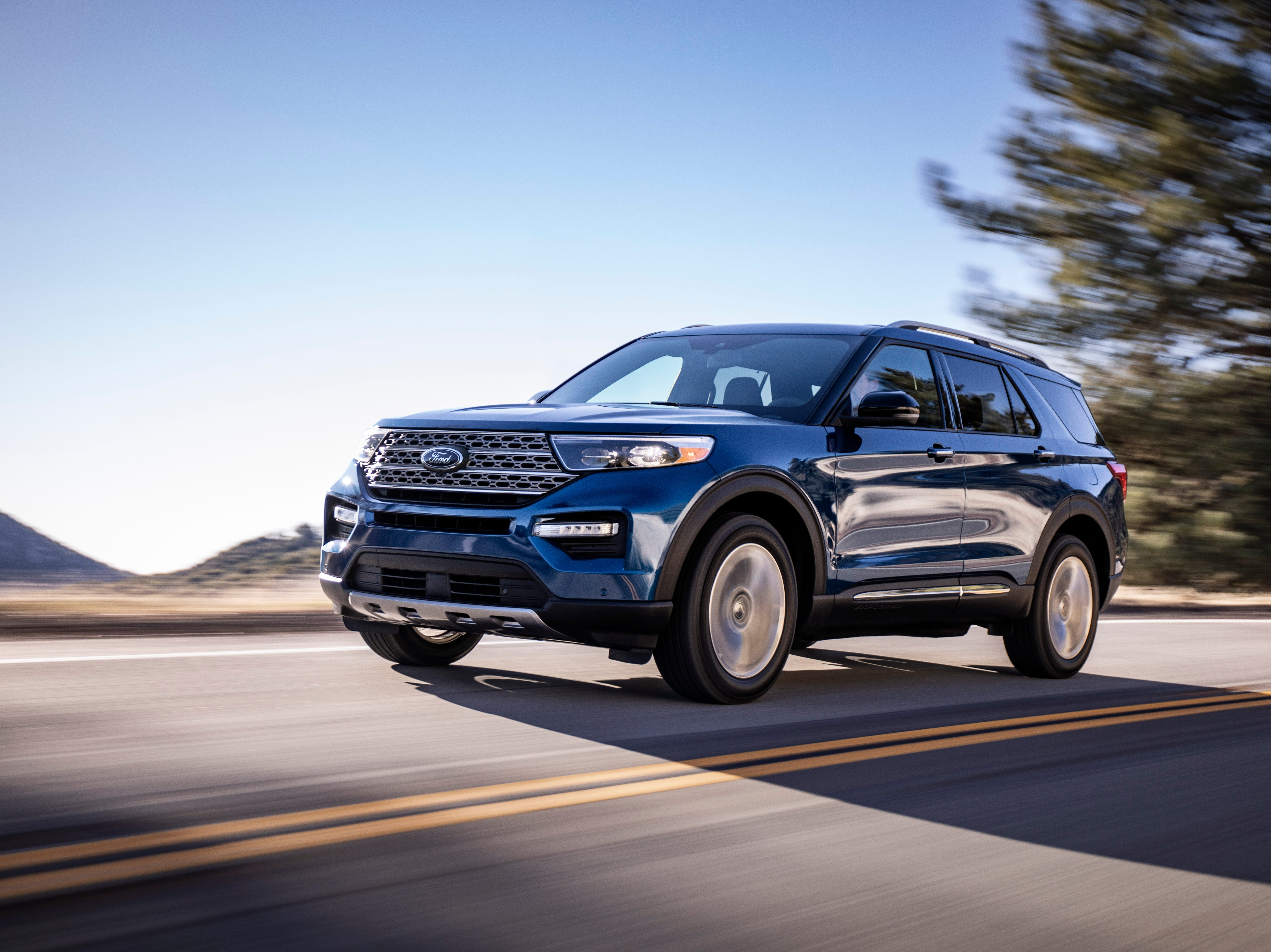 This is the 2020 Ford Explorer Limited model.