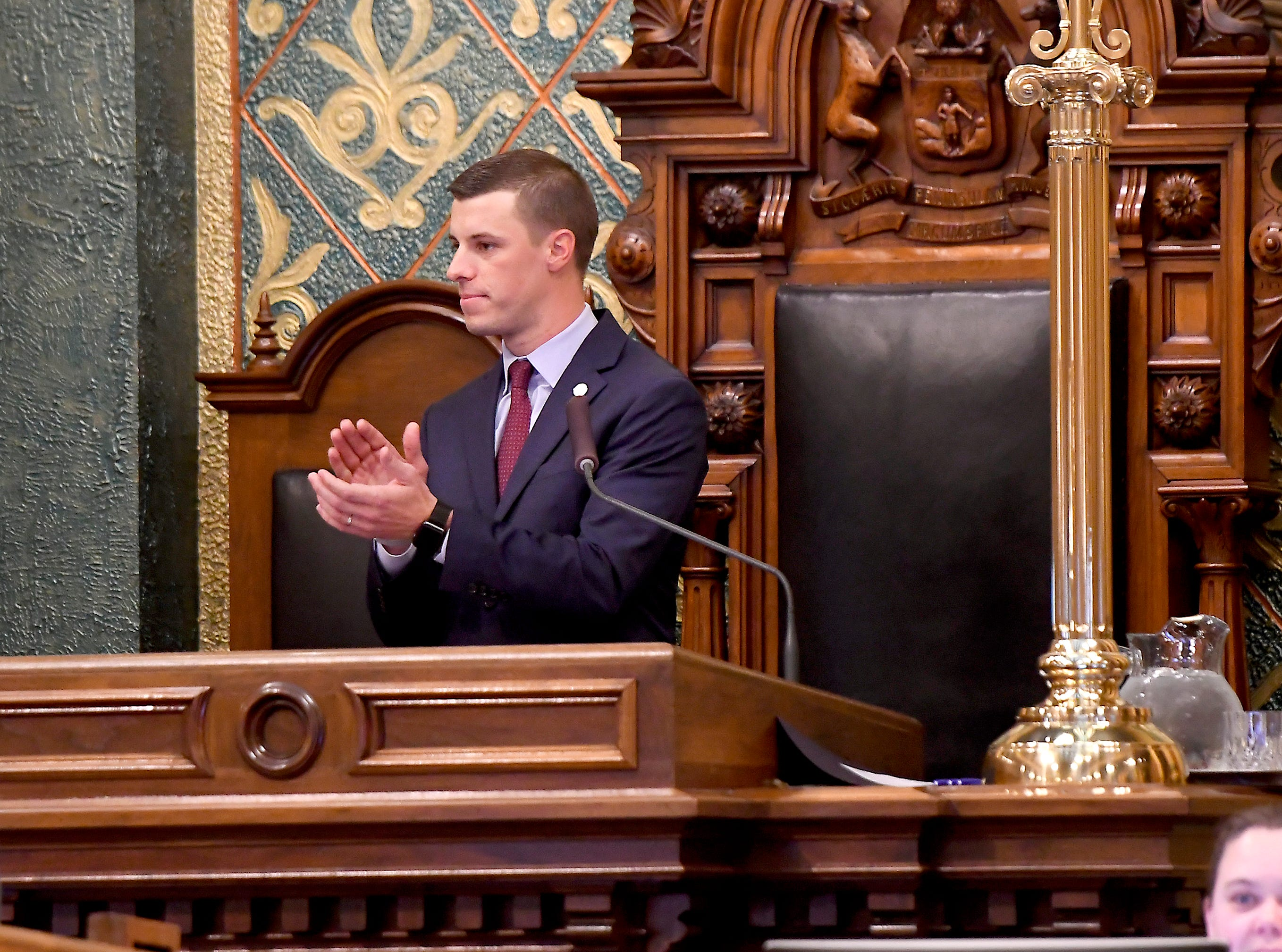 Michigan House speaker invites Trump to deliver State of the Union in Lansing