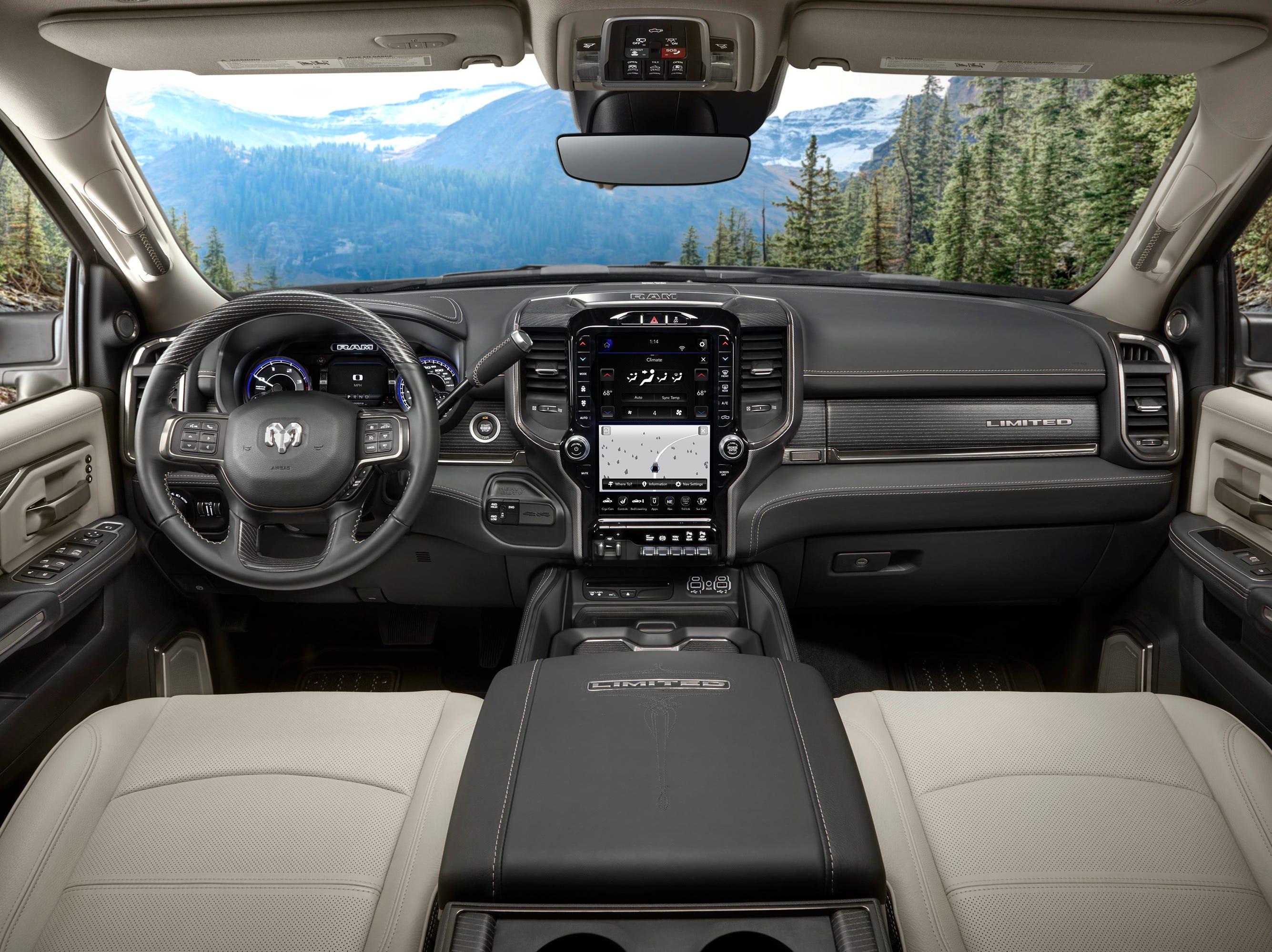 2019 Ram Heavy Duty Limited interior