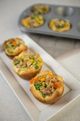 Chicken Pot Pie Cups. (Johanna Huckeba/St. Louis Post-Dispatch/TNS)