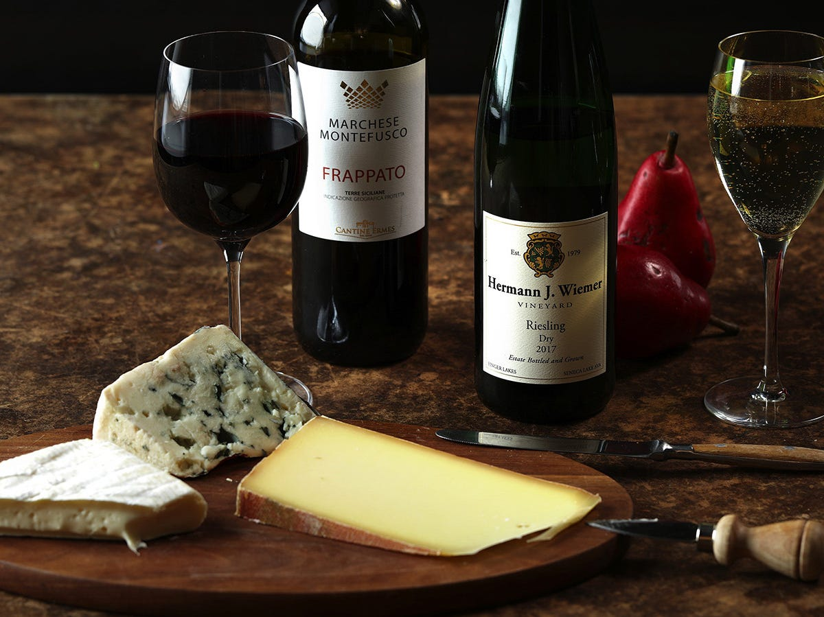 What wine goes with what cheese? Just pick easy-drinking bottles