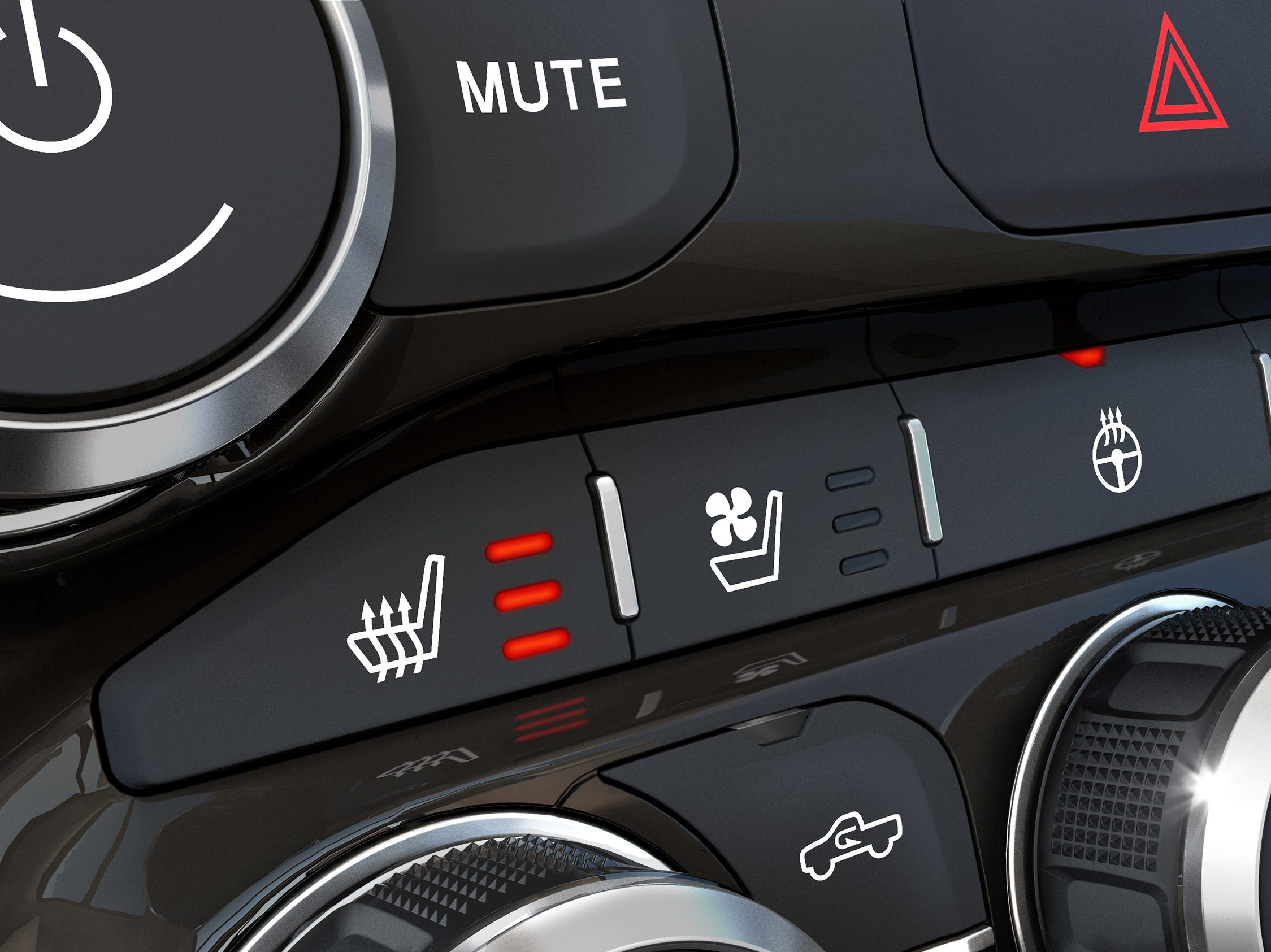 2019 Ram Heavy Duty heated seats and steering wheel