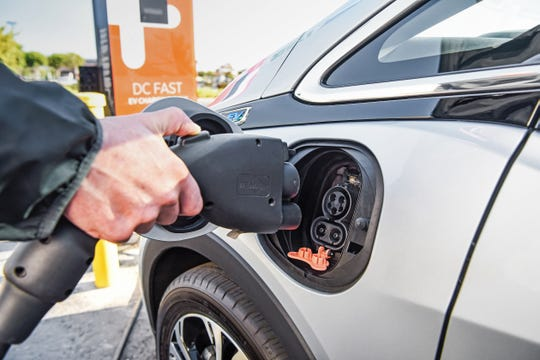 GM announced Wednesday it is collaborating with EVgo, ChargePoint and Greenlots to aggregated data from each of the three EV charging networks for use in an updated version of the myChevrolet app.