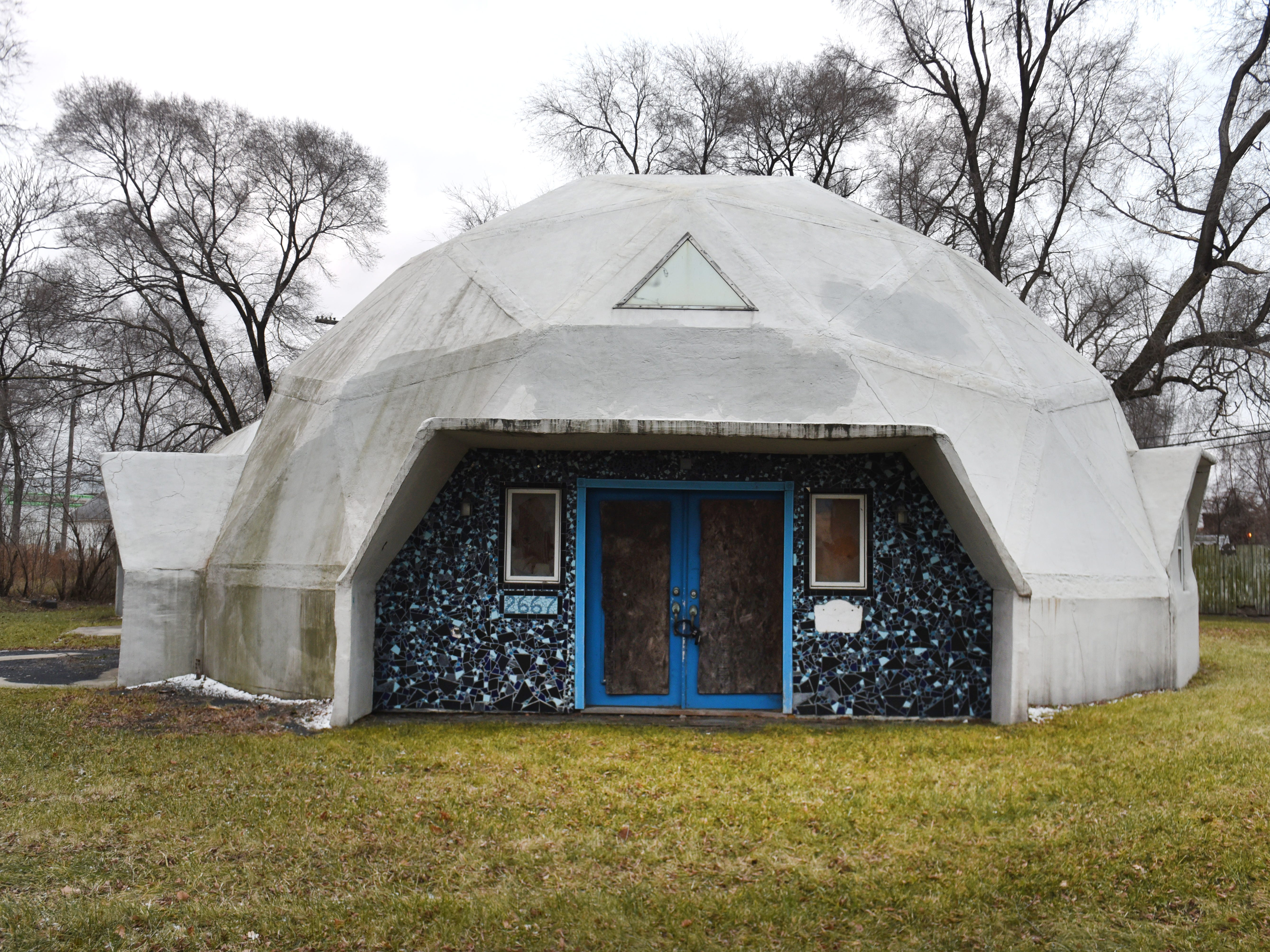 Geodesic dome home built by Jack White's brother sold