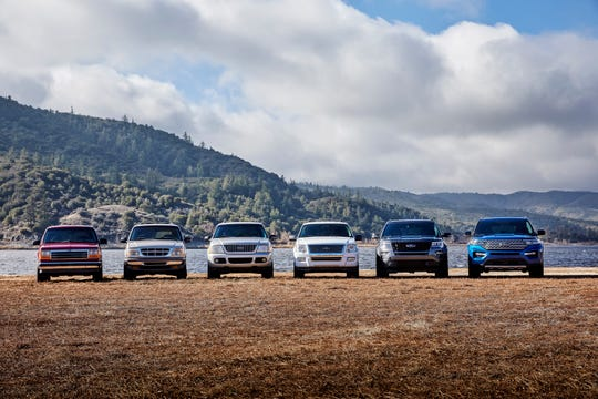 The Explorer lineup now features standard, XLT, Limited, Limited Hybrid, ST and Platinum models.