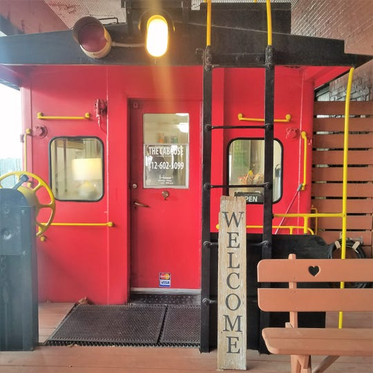 The Caboose might just be one of the cutest kitchens in town.