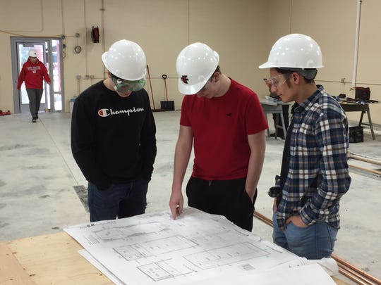 Students learn a variety of skills throughout the program, including those in architecture, engineering and construction.
