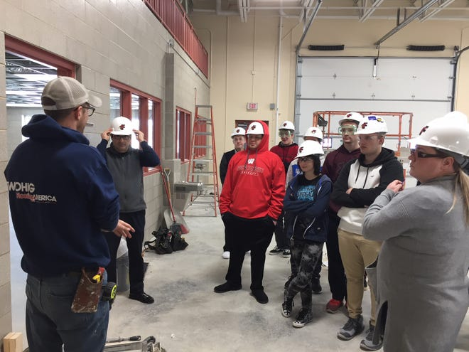 Students have already taken part in the ACE Academy through assisting in parts of construction. Students have observed the process of installing flooring as well as taken part in installing ceiling tiles.