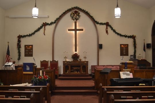Generations of families have worshipped in this sanctuary at Shiloh UMC since 1875.