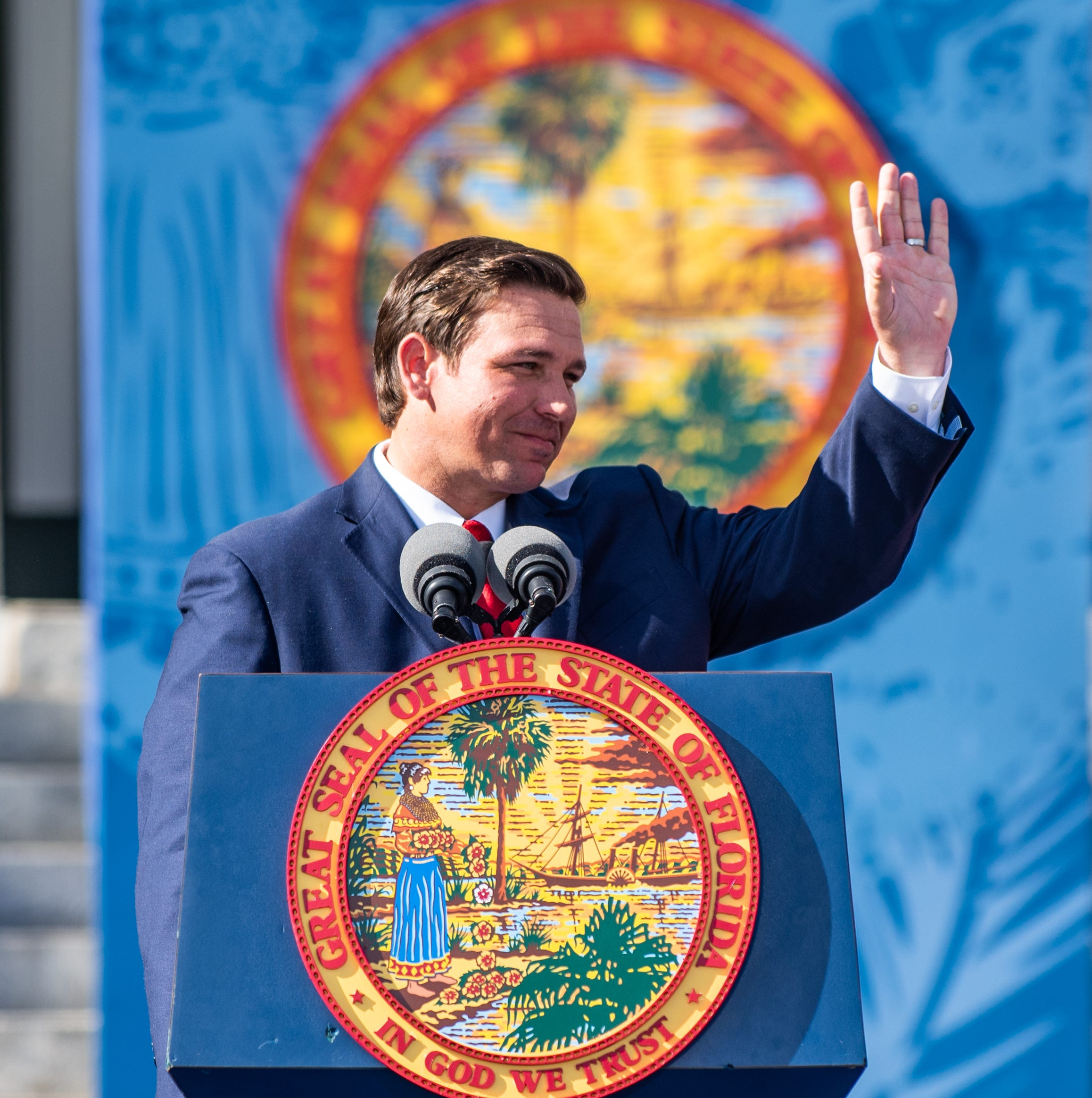 Ron DeSantis officially takes office as Florida's governor