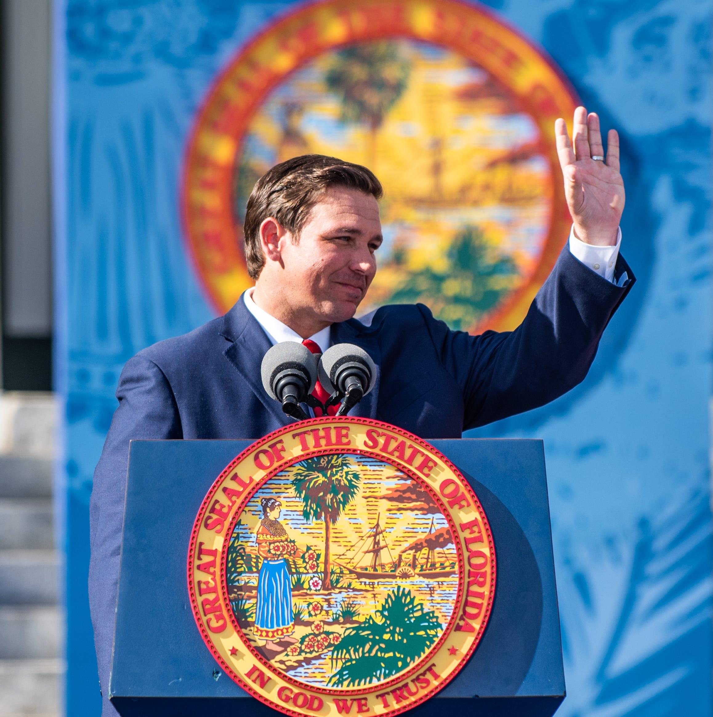 Ron DeSantis officially takes office as Florida's governor