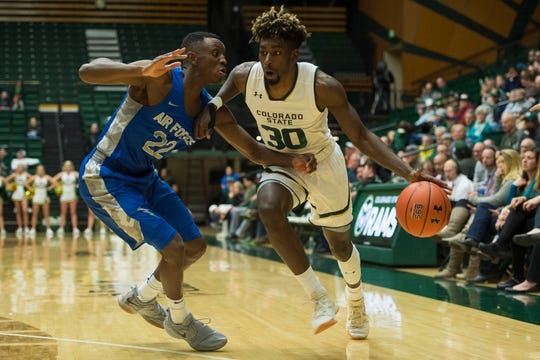 The CSU men's basketball team hosts New Mexico at 2 p.m. Saturday.