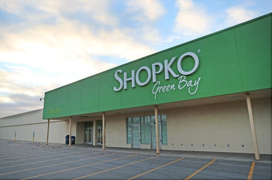 The Shopko store at 216 S. Military Ave.   in Green Bay.