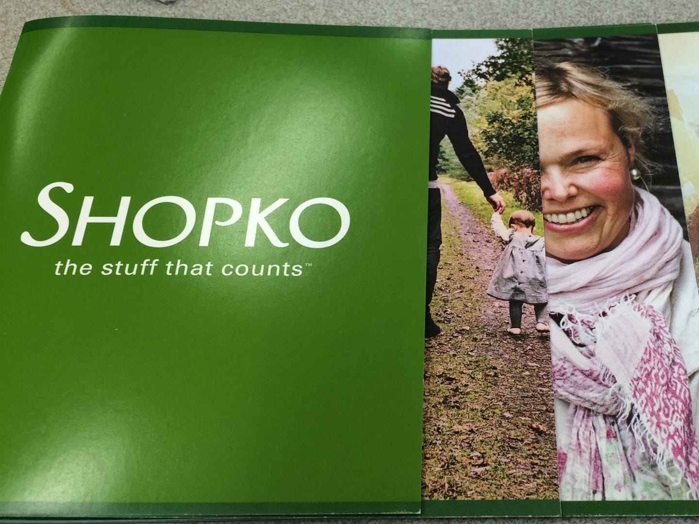 Promotional materials produced as part of the rebranding of Shopko stores in 2015.
