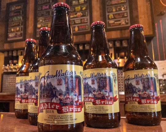 Adler Brau, once a popular beer in the Fox Cities, is brewed again at Stone Arch Brewpub. A limited number of bottles and draft are available beginning Jan. 26.