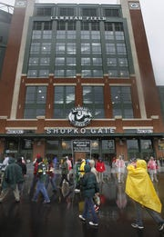 The Shopko Gate has been a fixture at Lambeau Field since the south end zone entrance opened in 2013.