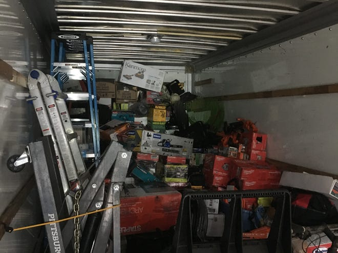Greenville Police recovered about $65,000 worth of stolen merchandise from Home Depot and Lowe's Home Improvement.