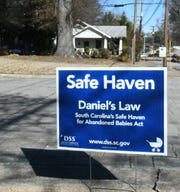 A 6-week-old baby was surrendered to the Greenville Memorial Hospital this week. The hospital is a designated safe haven for abandoned babies.