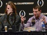 Clemson coach Swinney on Alabama game being like  a sibling rivalry