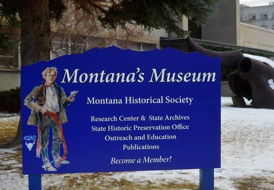 Montana Historical Society in Helena.