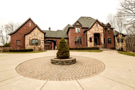 A traditional style $2m home with elements of French country and Tuscan influence is up for sale in Bargersville Ind. on Wednesday, Jan. 9, 2019. The house sits on 8.1 acres.