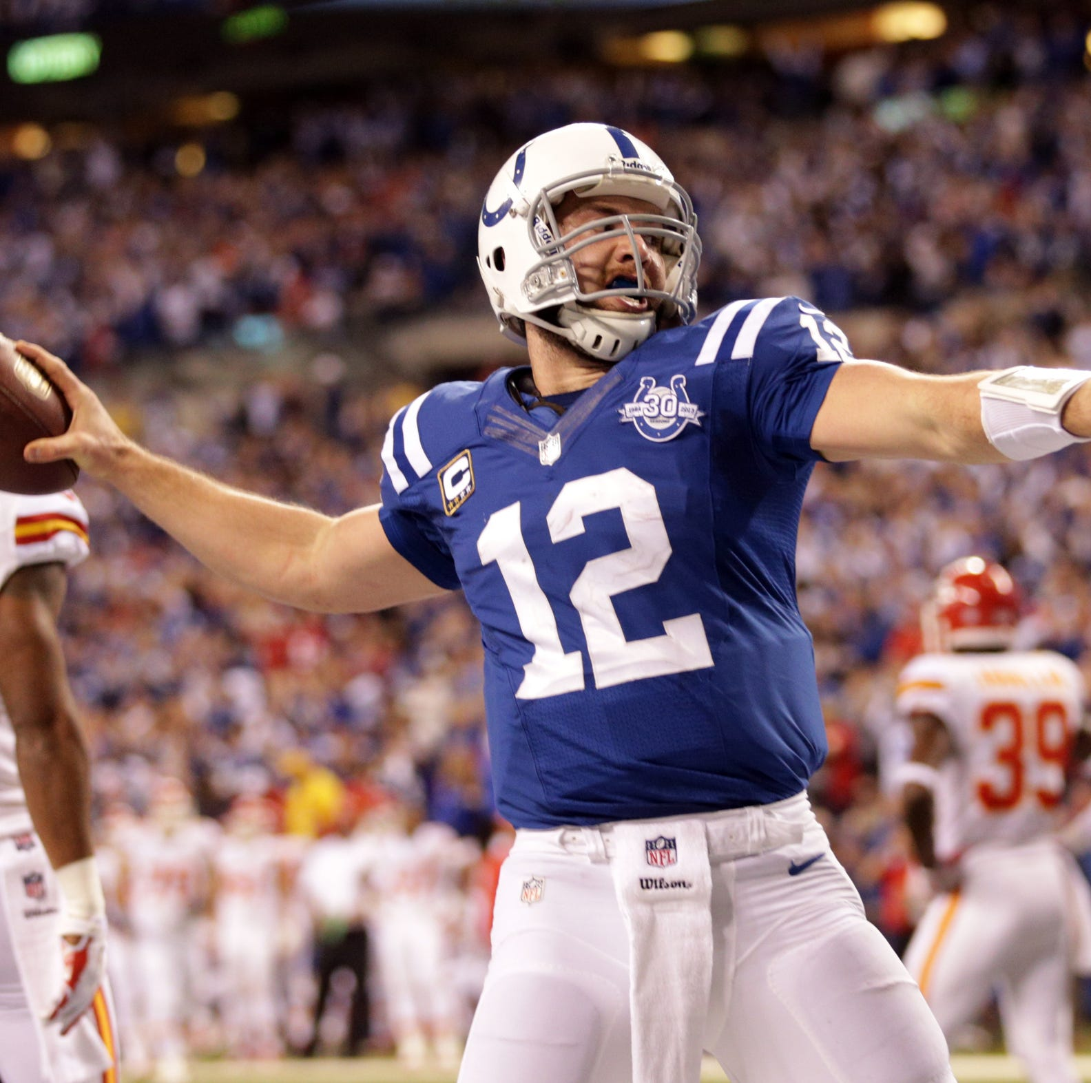 Andrew Luck's comeback part of long history of Colts playoff triumphs over Chiefs