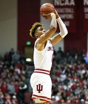 IU guard Romeo Langford leads the Hoosiers in scoring.