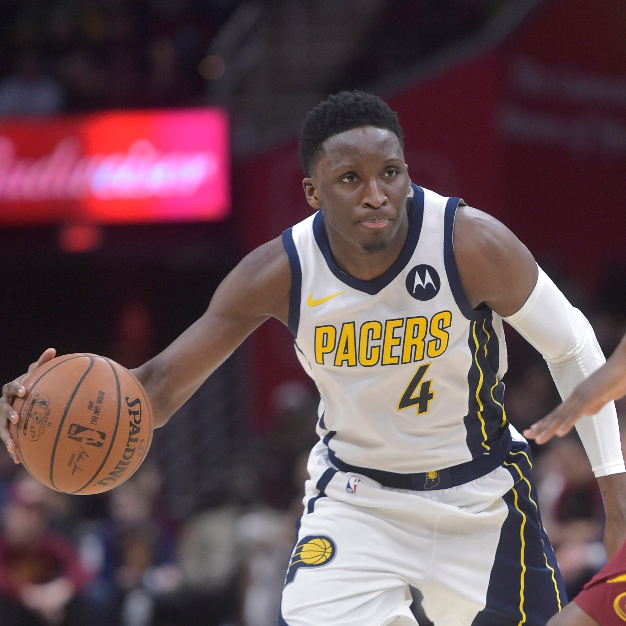 Pacers star Victor Oladipo gives update on knee, talks Pacers playoff chances