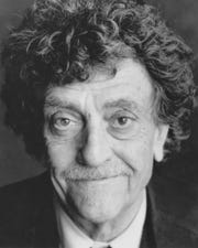 The author Kurt Vonnegut in 1990.