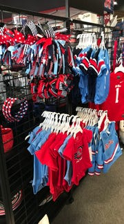 The College Corner in Flowood stocks apparel for young fans.