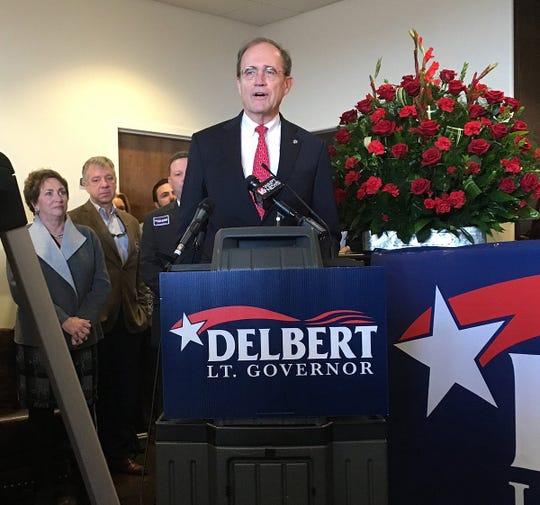 Mississippi Secretary of State Delbert Hosemann announces his run for Lt. Governor.