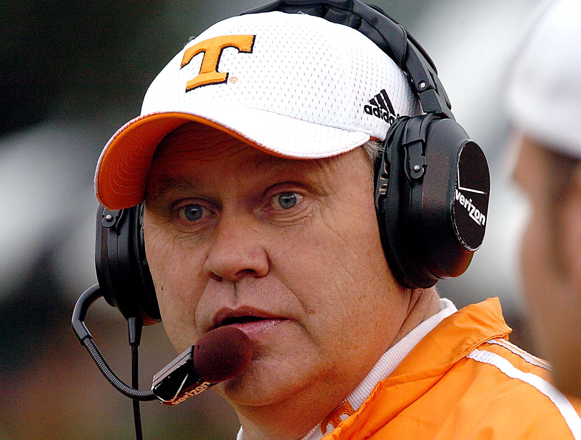 Tennessee head coach Philip Fulmer at Vandy game Saturday, Nov. 20, 2004 in Nashville.