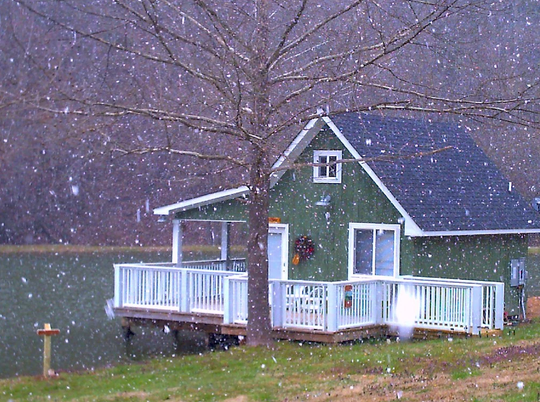 One of Lydia Kordalewski's Sevier County rental cabins, listed on Airbnb.