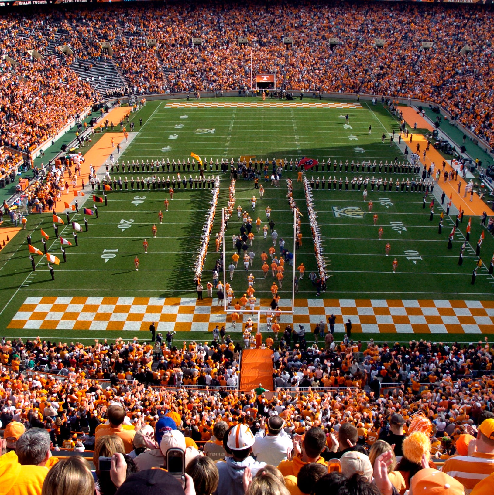 Alcohol sales set to begin during concerts at Neyland Stadium, Thompson-Boling Arena