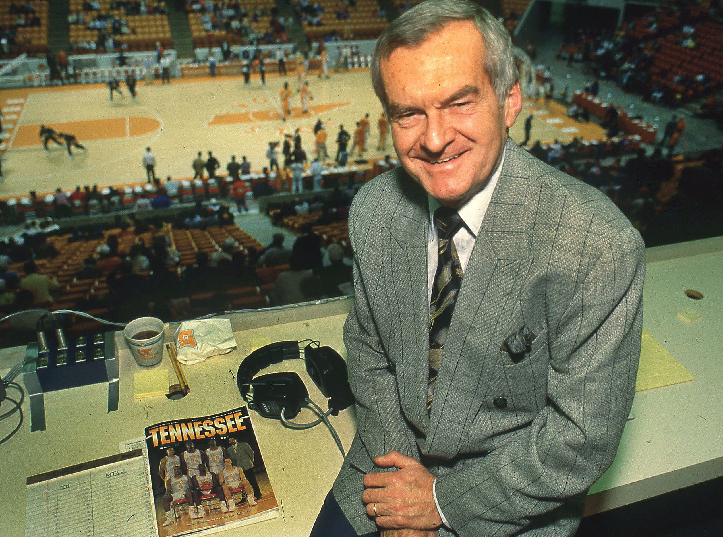 John Ward at Thompson-Boling Arena Dec. 5, 1991.
