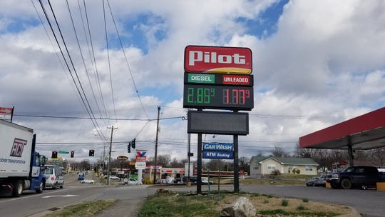 Gas prices are at a record low amid decreasing demand and an oversupplied market. The average price for a gallon of unleaded gas in Knoxville is $1.91 as of Wednesday, with prices dipping even lower in many parts of town. A Pilot station on Merchants Drive has sold gas at $1.77 a gallon for the past several days--one of the cheaper rates in town, according to GasBuddy, a fuel price search engine.