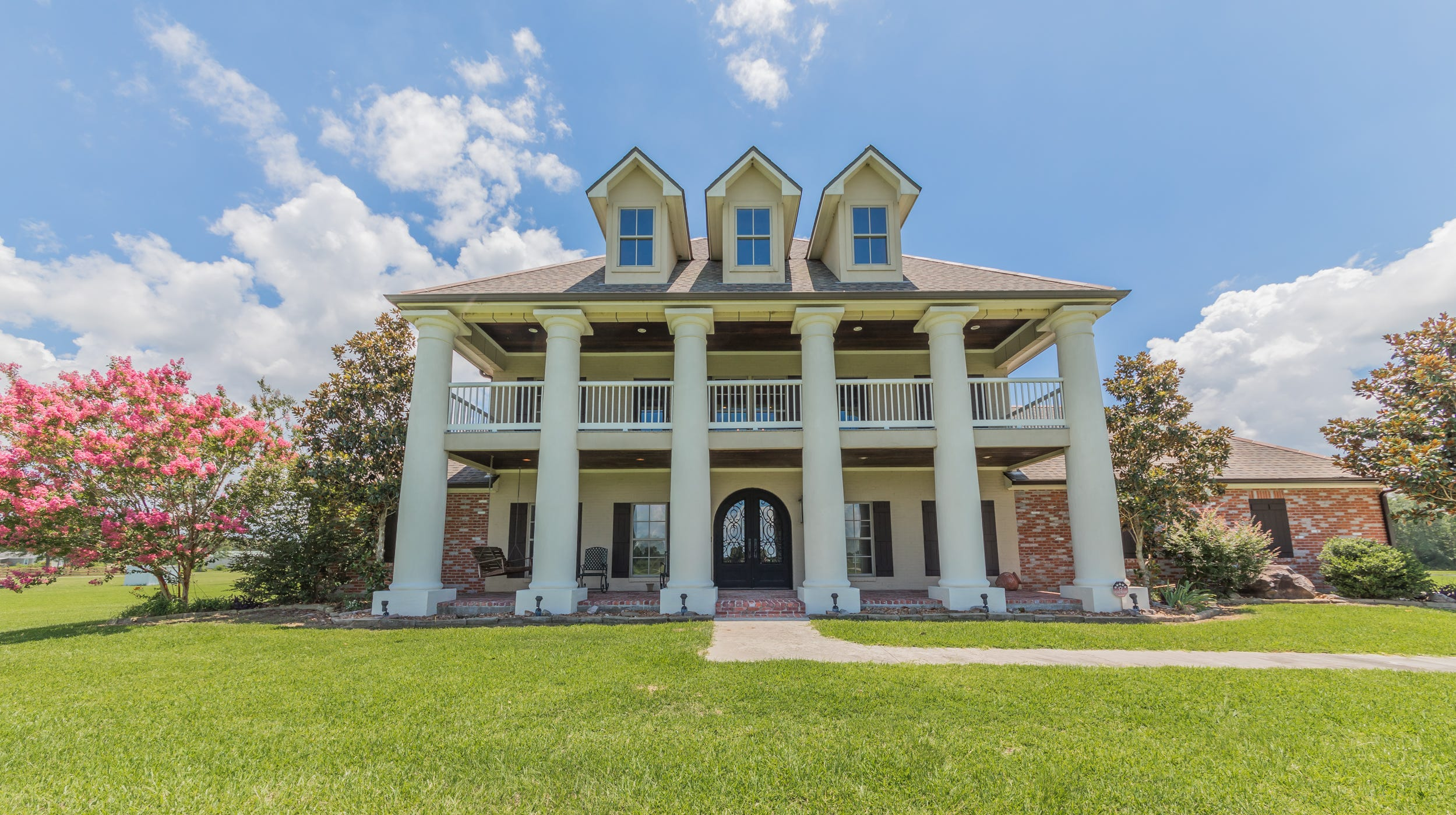 This 5 bedroom, 3 bath home is located at 329 Cocodril Road in Scott, La. It is listed at $899,000.