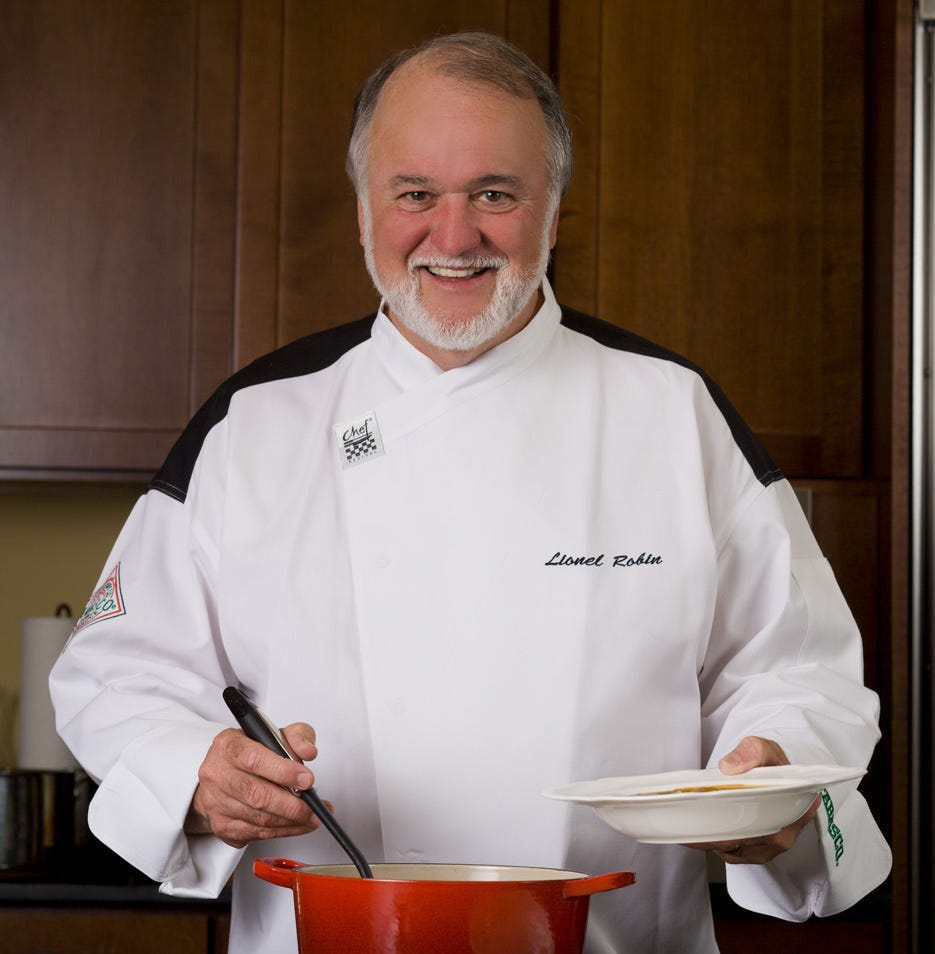 Funeral arrangements set for Acadiana chef Lionel Robin